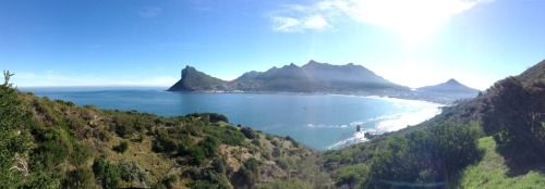 wanxderxlust:  Panoramic shot I took, Cape Town, South Africa