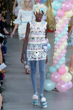 Meadham Kirchhoff Meadham Kirchhoff ready to wear spring 2012 who is this model?