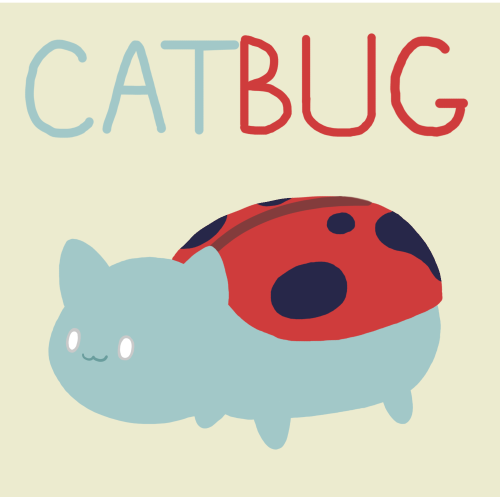 bravestwarriors:    Catbug because he is awesome. -Ryan   Love the style of this. Keep up the great work and submit some more art! Have you seen the latest episode of Bravest Warriors, featuring all new characters such as Plum, Impossibear, and the super cute Catbug! Thank you Ryan for the Catbug fan art!