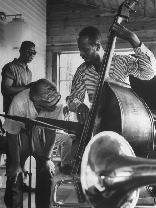 majorgloryus:  Percy Heath Jazz Workshop. 1959