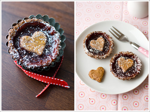 linzer tartlets click here for recipe