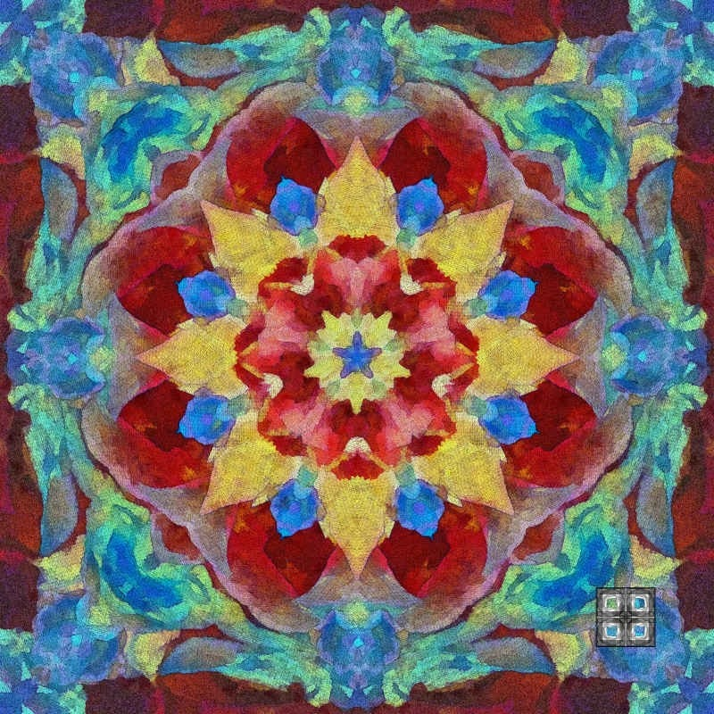 fuckyeahchromadepth:  MANDALA DESIGN 127 by *Philluppus