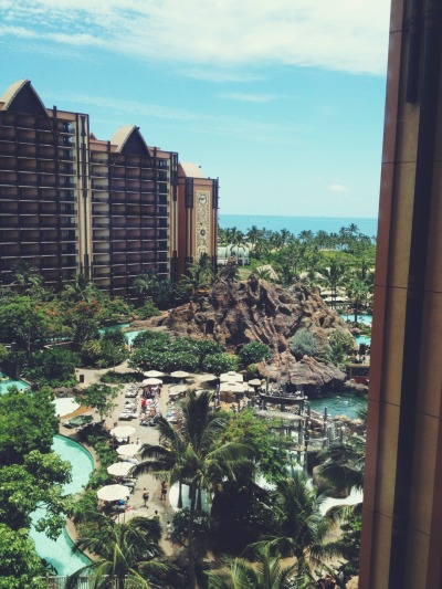 n-ataly:  vacation at Aulani Disney Resort, best view ever!