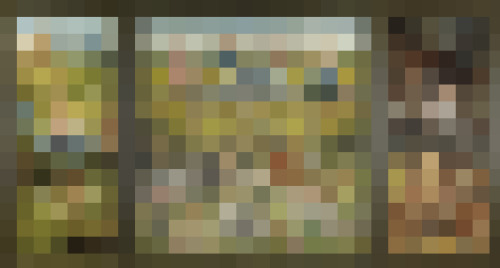 RN901, 1480-1505, Pixelated Painting, 2013