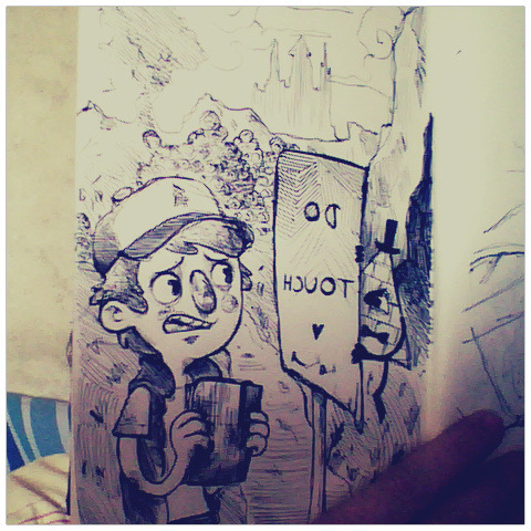 Random Gravity Falls fanart cos it's what I do when I don't know what to draw. lala~