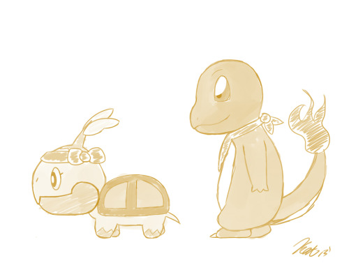 Rawr More Pokemon sketches for my soon to be Pokemon comic!