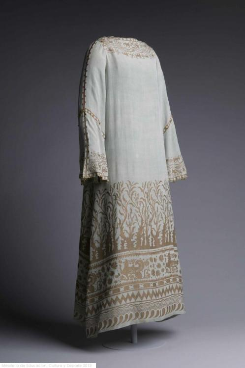 Dress Mariano Fortuny, 1910-1930 Museo del Traje