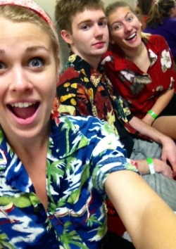 Woooo Hawaiian shirt Wednesday