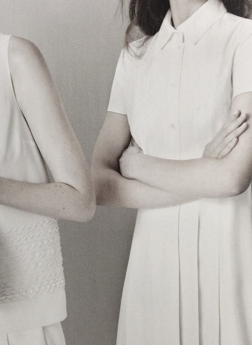 detail of jil sander navy ad