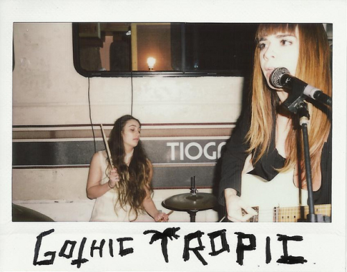 "Gothic Tropic plays this weekend at Ace Hotel & Swim Club in Palm Springs as part of Cutty Sark's Stay True weekend showcase. It's gonna be rad. <a href=""http://gothictropic.bandcamp.com/track/monkey-bars"" data-mce-href=""http://gothictropic.bandcamp.com/track/monkey-bars"">Monkey Bars by GOTHIC TROPIC</a> Photo by Joseph Guzman"