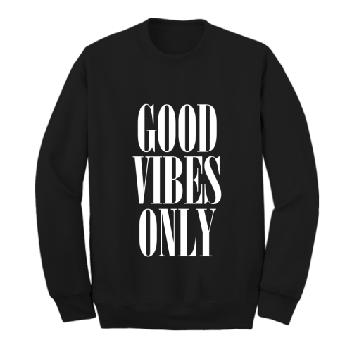good vibes only good vibes good vibes clothing shopping blog online shopping storenvy storenvy finds shopping finds shopping cute clothes sweater 90s sweater girl clothing woman clothing american apparel