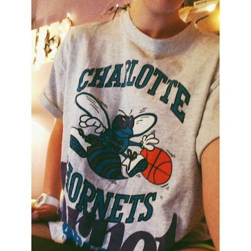 I prefer the throwback edition of the NBA. My childhood team. #vscocam #whitagram