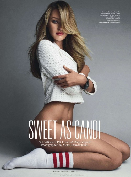 sexycandiceswanepoel:  Candice Swanepoel for Vogue Australia June 2013