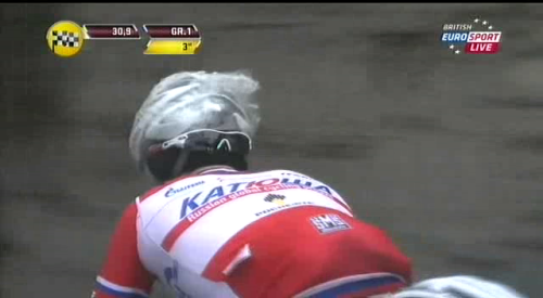 You may think that Ciolek won #MSR. Wrong. Eduard Vorganov did. #SHOWERCAPS