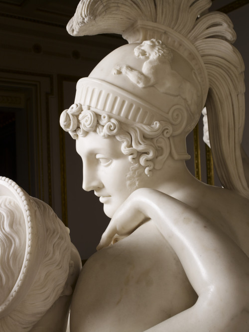 statuemania:  Mars and Venus (Detail) by Antonio Canova, 1822.