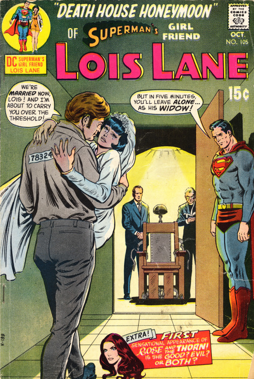 (via Gay for Lois Lane: Death House Honeymoon - Well at least you can say you've been married!)