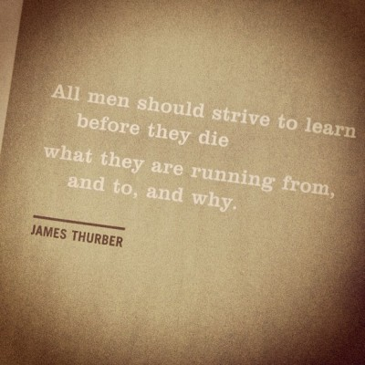 Wise words #thurber #quotes #life #wisdom