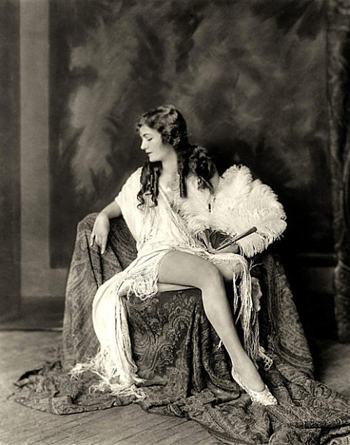 Ziegfeld girl Alice Wilkie - c. 1920s Photo by Alfred Cheney Johnston
