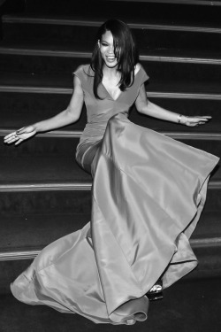 Chanel Iman at the American Ballet Gala