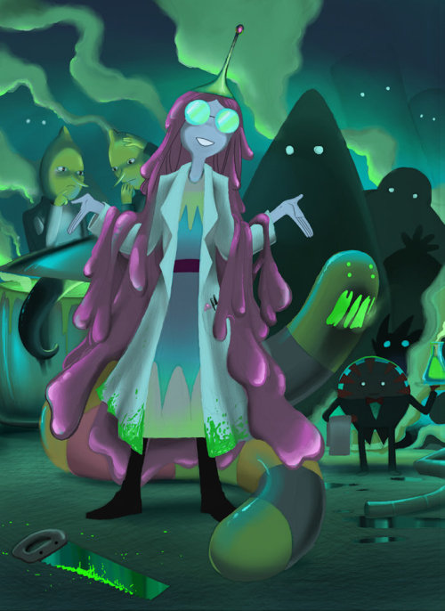 disciple-catastrophe:  Mother Bubblegum by ~Ghashak