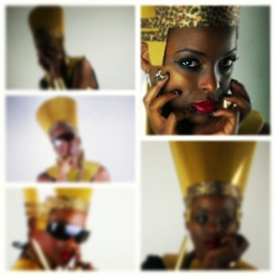 Nefertiti of the 21st Century. #BLACKGOLD #SONSOFTHEQUEEN // #DOPENESS // This was an exercise in the planning & execution of a plan.