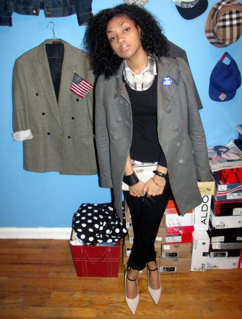 blackfashion:  Clarissa Forde, 17, NY Model, Stylist, & Fashion Blogger. Site/Fashion Blog: http://www.themixedmannequin.com/ Tumblr: http://themixedmannequin.tumblr.com/ Instagram: @TheMixedMannequin Twitter: @MixedMannequin