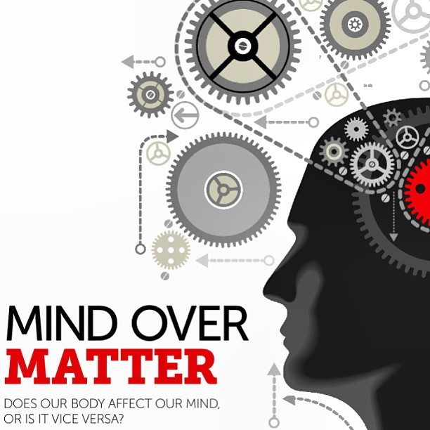 Mind Over Matter…  #science #psychology #mind #body #zedtrogram