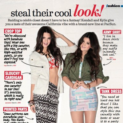 New work in @seventeenmag featuring the super cute and sweet Kendall and Kylie Jenner!  Photo by the amazing @ashleybarrettphotography ! Hair: #RichardCollins , Make up: #JennaAnton , Nails: #stephstonenails ❤