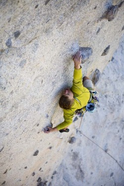 what-a-climber:  Photo: Andrew Burr Climbing Magazine