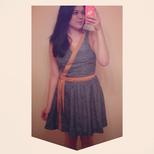"Wore the @dearcreatures ""Constance"" dress I got from @thelovedone_'s sample sale! #dearcreatures #thelovedone #whatiwore #outfit #ootd"