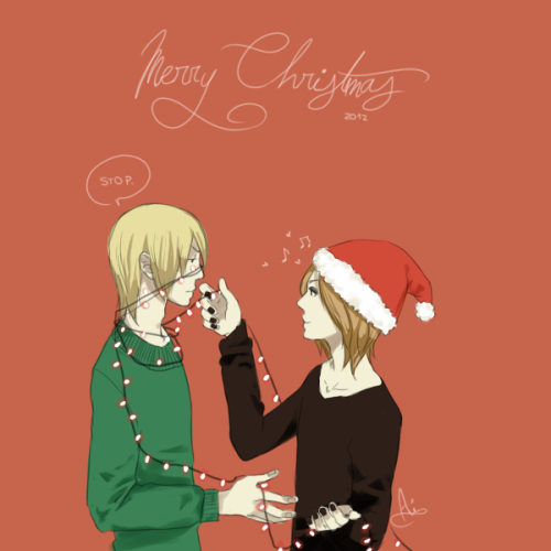 mamacaroni:  Merry christmas (・ω・`) reita is tired of your shit ruki