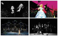"myfallenidol:  ""Musicals are, by nature, theatrical, meaning poetic, meaning having to move the audience's imagination and create a suspension of disbelief, by which I mean there's no fourth wall."" - Stephen Sondheim"