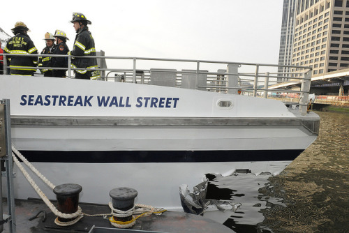 Ferry Accident - Jan. 9, 2013 by Official New York City Fire Department (FDNY) on Flickr.
