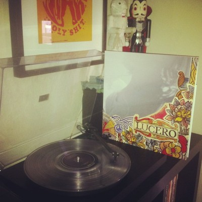 Recently on the turntable… Lucero - That Much Further West (2xLP/clear vinyl/Sabot Records/out of 300)