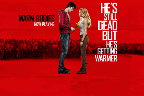 Warm Bodies (2013)This is such a good movie. Not a typical zombie movie. It is not suspense, horror or ewwy (lol) film but romantic comedy. This movie shows that love is still the most powerful and the cure to all things. So guys, you better watch it.