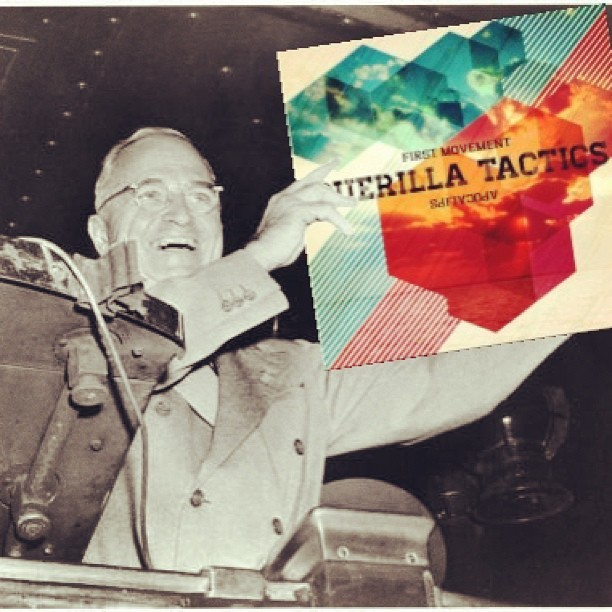 Truman knows what's up. #xsv @guerillatactix