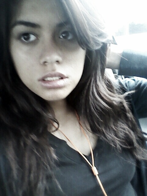 "Was waiting for my mommy in the car. This is my ""Model"" pose. Lololol."