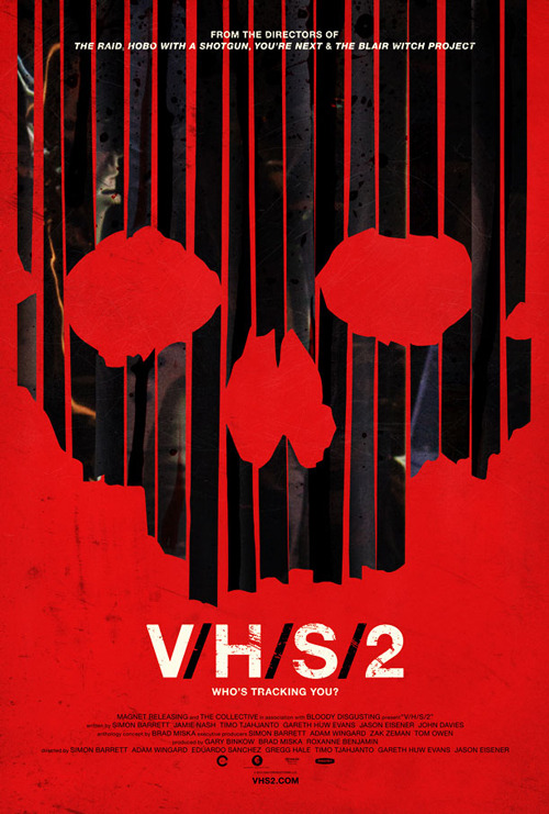 totalfilm:   First red-band trailer for V/H/S/2: watch now The first trailer for horror anthology follow-up V/H/S/2 has made its way online, and fans of the first film won't be disappointed with the amount of blood, nudity and general mayhem contained in this first few minutes of footage…