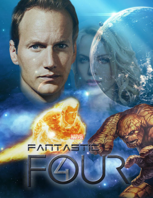 Fantastic Four - fan-made poster via ~MrSteiners
