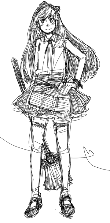 Magical girl????