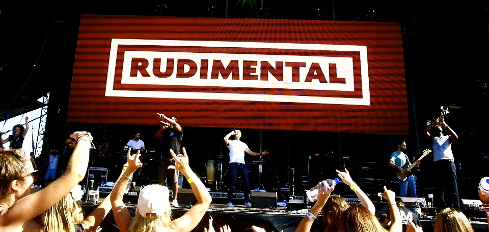 Rudimental at Future Music Festival, Sydney, 2013