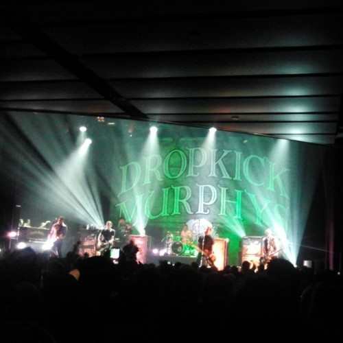 For Boston. #DropkickMurphys #ClubNokia #Goldenvoice  (at Club Nokia)