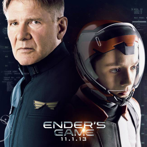 popculturebrain:  New Promo Photo: 'Ender's Game' | Superhero Hype