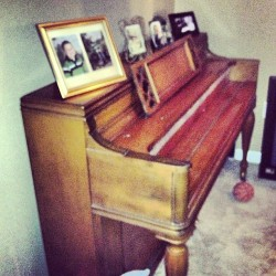 Mom's piano. Holds a lot of soul.