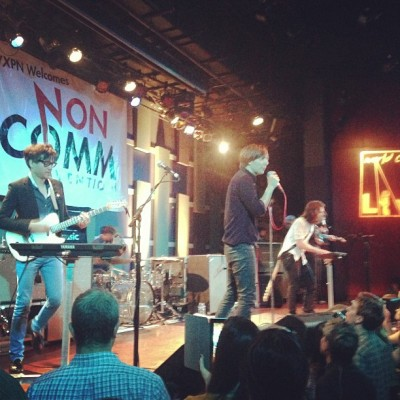 Yeah this is @wearephoenix @wxpnfm #noncomm @worldcafelive