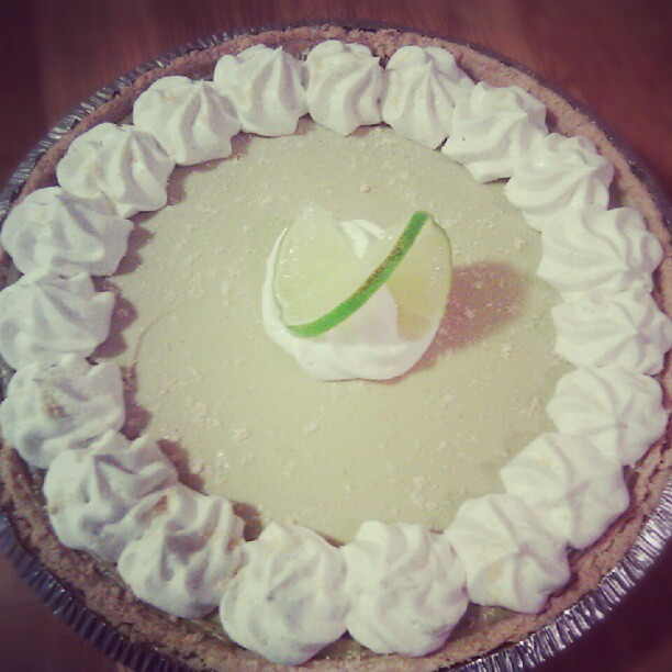 Key Lime pie y'all!