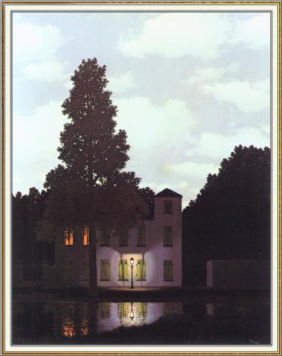 "Rene Magritte ""The empire of lights"" 1954"