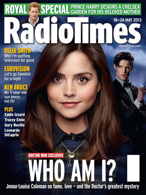"Radio Times cover for DW ""The Name of The Doctor"" via eidolithos"
