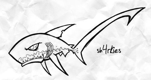 Thresher shark for Cat o:  :O :O OMG it's so cool!!! Ahhhh thank you thank you thank you :')