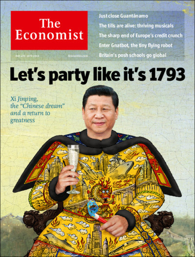 Tomorrow's cover today: the vision of China's new president should serve his people, not a nationalist state.